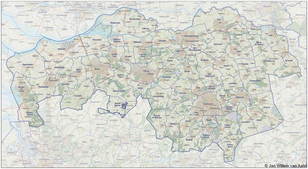 Noord Brabant Plaatsengids Nl
