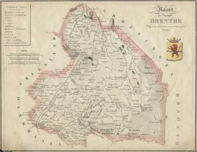 Drenthe 19e eeuw