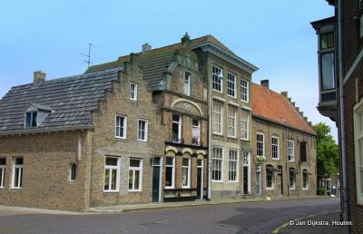 Zeeuws-Vlaanderen, een mooi rijtje in IJzendijke