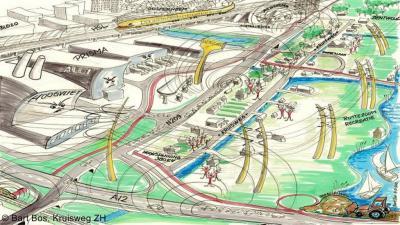 Kruisweg, de '13 plagen van de Kruisweg', gevisualiseerd door inwoner Bart Bos