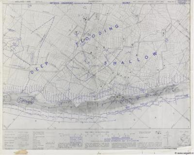 Snabbeldorp, militaire kaart, 1944