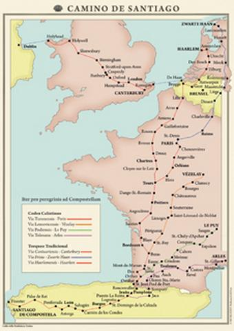 Zwarte Haan is het startpunt van een van de pelgrimsroutes naar het Spaanse Santiago de Compostela en heeft daarom als bijnaam 'het begin van de wereld'. Zie verder bij Naam.