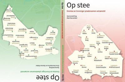 In het boek 'Op Stee. Drentse en Groninger plaatsnamen verzameld' (2015) kun je o.a. lezen hoe plaatsnamen in deze provincie worden uitgesproken, of men erin of erop woont en hoe men de bewoners noemt.