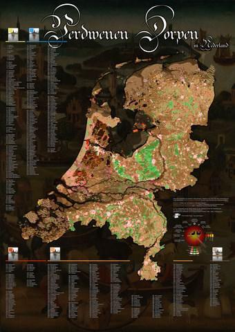 De afgelopen eeuwen zijn vele nieuwe plaatsen in ons land ontstaan. Er zijn er echter ook honderden zo niet duizenden verdwenen. En ook dáár zijn boeken over geschreven, zoals de boekenserie 'Verdwenen dorpen in Nederland' van geograaf Bert Stulp.