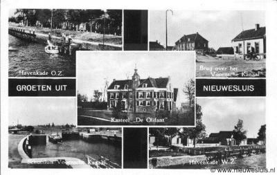 De buurtschap Nieuwesluis bij Heenvliet is in de jaren zestig eerst verhuisd van Voorne naar het Eiland van Rozenburg en kort daarna afgebroken en onder een metershoge lading zand bedolven voor de uitbreiding van de industrie en havens van Rotterdam.