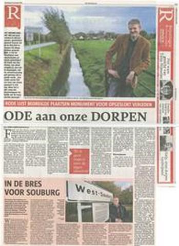 Naar aanleiding van de schaalvergrotingsplannen van het kabinet een artikel in de Telegraaf van 10-11-2012. Het artikel kunt u hieronder als bijlage openen.