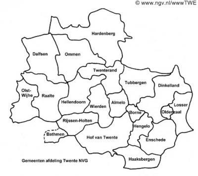Men moet zich realiseren dat één geografische benaming op verschillende gebieden kan slaan qua indeling, zoals in het geval van Twente 1) de geografische regio, 2) het bestuurlijk samenwerkingsverband Regio Twente en 3) regionale afdelingen van instanties