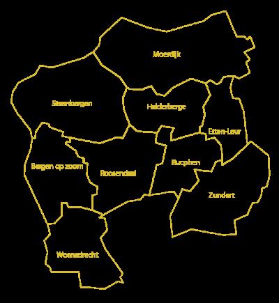 Niet alleen gemeenten, ook archieven fuseren om de krachten te bundelen. Zo zijn in 2016 de archieven in Bergen op Zoom, Roosendaal en Oudenbosch gefuseerd tot het West-Brabants Archief. Handig daarom dat diverse sites overzichten van archieven bijhouden