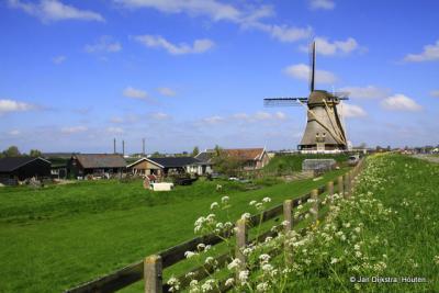 Het landschap bij 's-Molenaarsbuurt.