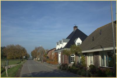 Dorpsgezicht van Benthuizen, vanaf de Herenweg
