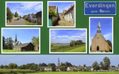 Everdingen, dorp in de gemeente Vijfheerenlanden (© Jan Dijkstra, Houten)