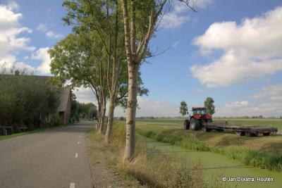 Buurtschap Geer, gelegen tussen Nieuwland en Leerbroek en even ten NW van Leerdam