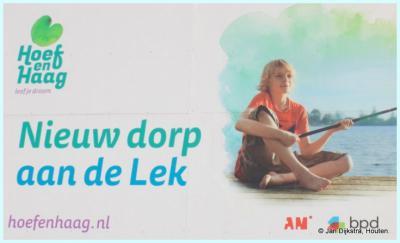 Het geboortekaartje van het nieuwe dorp Hoef en Haag bij Vianen