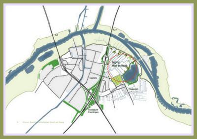 Met dit kaartje wijst Plaatsengids.nl je de weg naar een geheel nieuw dorp in wording: Hoef en Haag. En op deze pagina kun je alles lezen over het ontstaan en de voortgang ervan. (© www.vianen.nl)