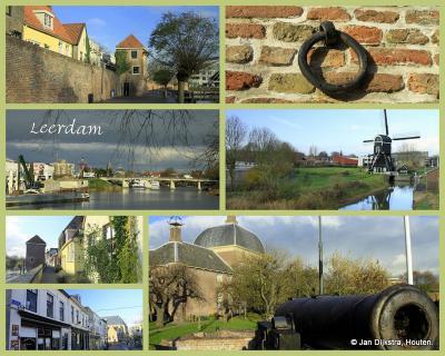 Leerdam, stad in de gemeente Vijfheerenlanden (© Jan Dijkstra, Houten)