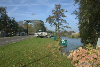 Ophaalbrug over de Rietveldse Vaart in buurtschap Rietveld (Dijkgraafweg)