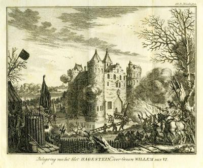 Wist je dat er vroeger op de plaats waar het dorp Hoef en Haag komt een groot kasteel (slot) heeft gestaan, en dat een gedeelte van het nieuwe dorp daarom het Kasteelterrein gaat heten? Dat gebied gaat aansluiten aan de plas Everstein.