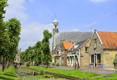Nieuwpoort, stadje in de voormalige gemeente Molenwaard