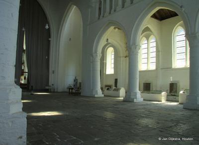 Het bijzondere interieur van de Sint Bavokerk in Aardenburg