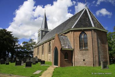 De kerk van Abbega ten voeten uit