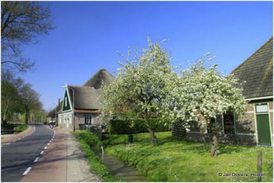 Abbekerk in West-Friesland.
