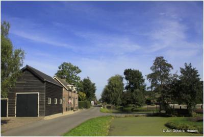 Een stukje Achterland van de 3 kilometer lange buurtschap