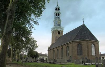 De Doelhofkerk/Doelhôftsjerke in Aldeboarn, met prachtige én scheve toren