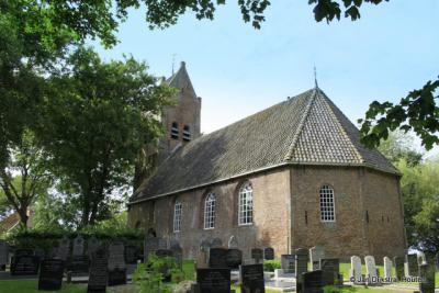 De Hervormde kerk van Allingawier.