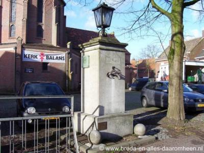 Alphen, dorpspomp aan de Raadhuisstraat