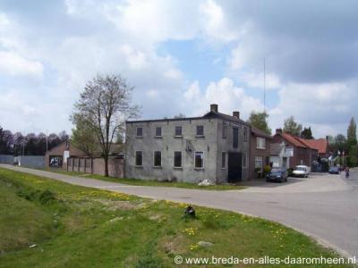 Alphen, graanmaalderij Sint Janstraat/Molenbaan