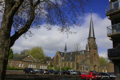 De Sint Bonifaciuskerk in Alphen aan den Rijn