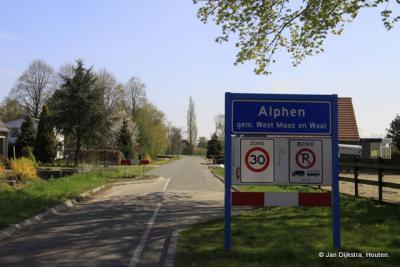 Alphen in Gelderland bereikt.