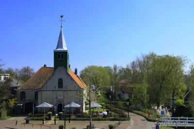 Andijk, de Buurtjeskerk in de Kerkbuurt