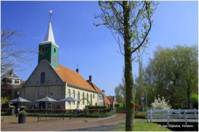 Andijk in West-Friesland.