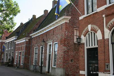 In het oude centrum van Appingedam.