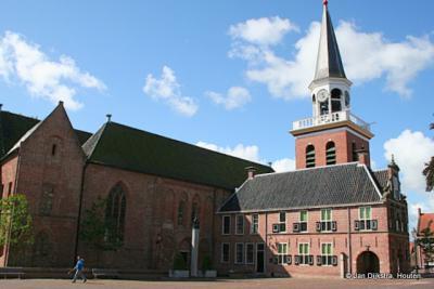 De Nicolaikerk uit het begin van de 13e eeuw in Appingedam.