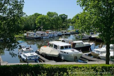 Arkel, jachthaven aan de Linge
