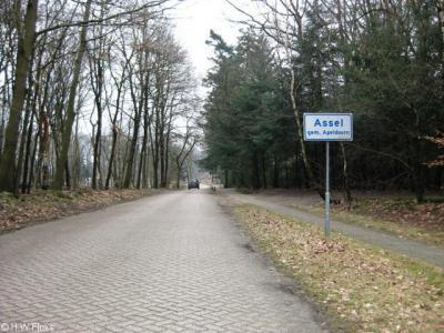 Assel (buurtschap van Hoog Soeren), deze kleine buurtschap met slechts een handvol panden ligt buiten de bebouwde kom in bos- en heiderijk gebied.