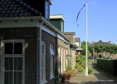 Een echt Fries straatje in Augustinusga