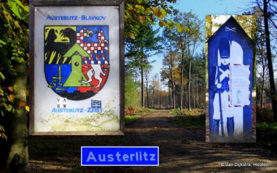 Austerlitz dorp in de streek Utrechtse Heuvelrug.