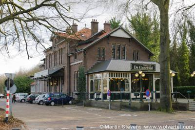 Baarn, voormalig station, nu restaurant De Generaal