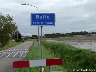 Baflo is een dorp in de provincie Groningen, in de streek Hoogeland, gemeente Het Hogeland. Het was een zelfstandige gemeente t/m 1989. In 1990 over naar gemeente Winsum, in 2019 over naar gemeente Het Hogeland.