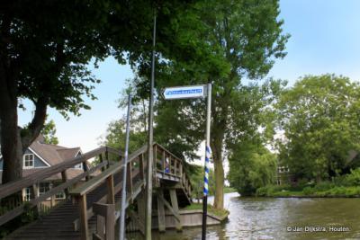En zien we het brugje van Bartlehiem van nabij.