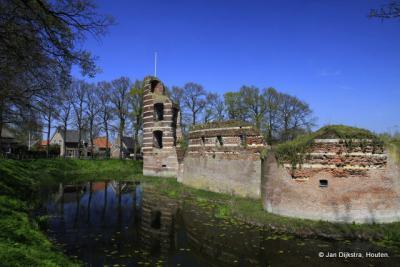 De kasteelruïne van Batenburg
