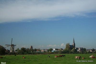 Skyline van Beesd.