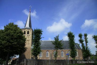 De Sint-Martinuskerk in Bitgum.