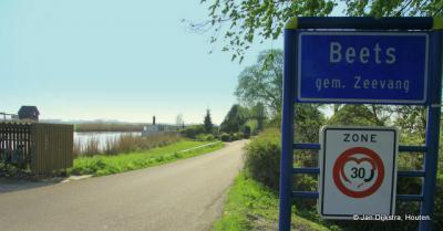 Beets, aan de Korsloot, vroeger een open verbinding met de Zuiderzee