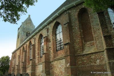 Dichtbij de kerk van Blije