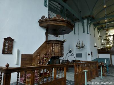 Blokzijl, Grote Kerk, interieur