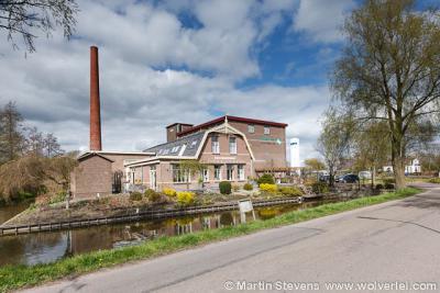 Bobeldijk, Koggenland, Noord Holland, de voormalige zuivelfabriek